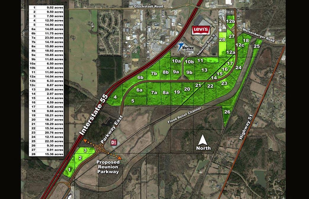 Parkway East Commercial Development Land