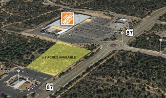 Commercial Land on SR-87 in Payson
