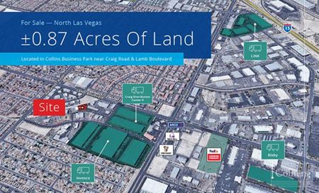 LAND  FOR LEASE AND SALE - Las Vegas